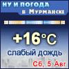 Ну и погода в Мурманске - Поминутный прогноз погоды